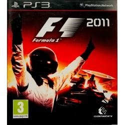 Formula 1 F1 2011 Playstation 3 ps3