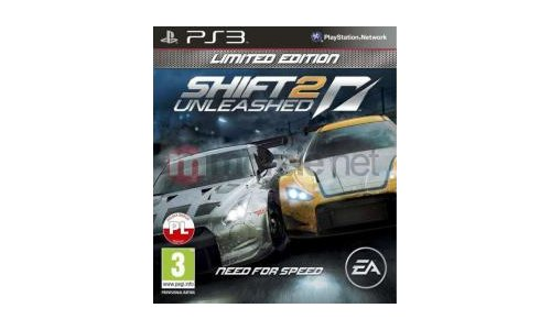 Nfs Shift 2 unleashed playstation 3 ps3