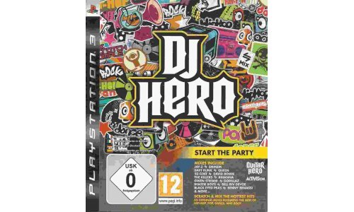 DJ HERO ps3 playstation 3