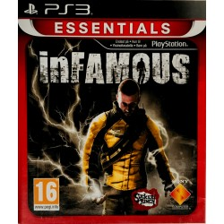 Infamous ps3 playstation 3 [PL]