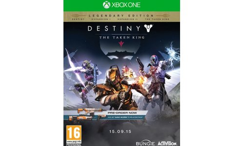 Destiny The taken king legendary edition xbox one