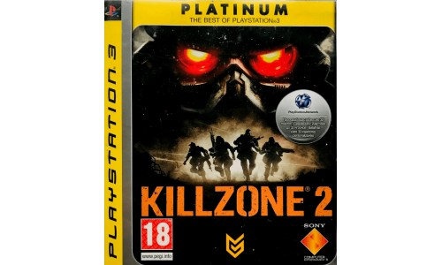 Killzone 2 platinum ps3 playstation 3