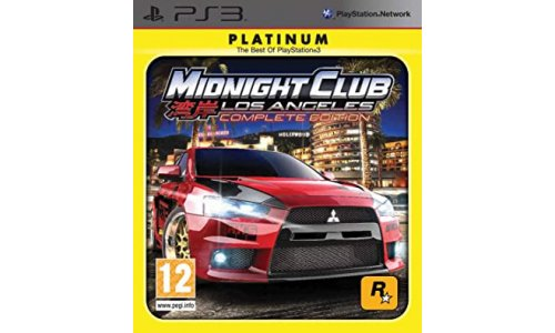 Midnight Club Los Ageles complete edition playstation ps3