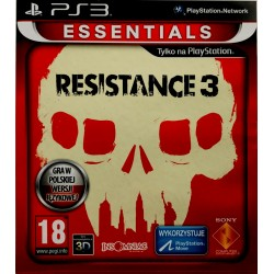 Ressistance 3 ps3 playstation 3