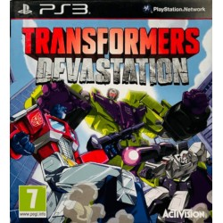 Transformers: Devastationt ps3 playstation 3