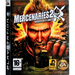 Mercenaries 2: World in Flames ps3 playstation 3