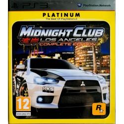 Mindnight club los angeles ps3 playstation 3