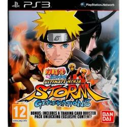 Naruto SHIPPUDEN Ultimate Ninja Storm Generations ps3 playstation 3