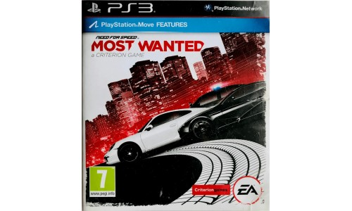 Need for speed most wanted Playstation 3 ps3