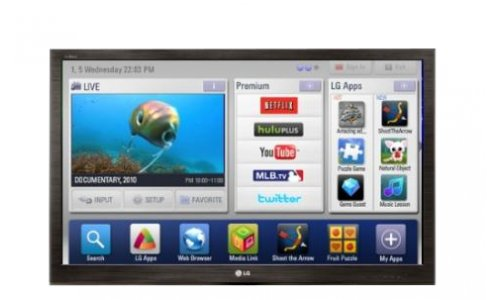 Telewizor lg 42lv375s/smart tv/youtube/netflix