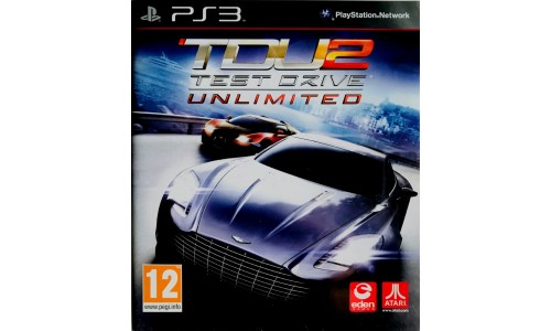 Test Drive unlimited 2 ps3 playstation 3