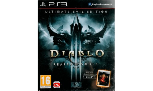 Diablo III: Reaper of Souls - Ultimate Evil Edition ps3 playstation 3 [eng]