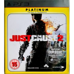 Just Cause 2 platinum ps3 playstation 3