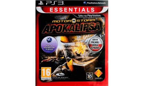 Motorstorm Apokalipsa ps3 playstation 3