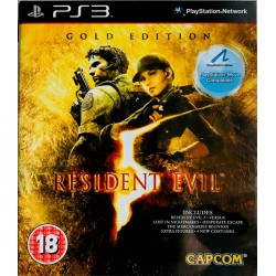 Resident Evil 5: Gold Edition ps3 playstation 3 na move