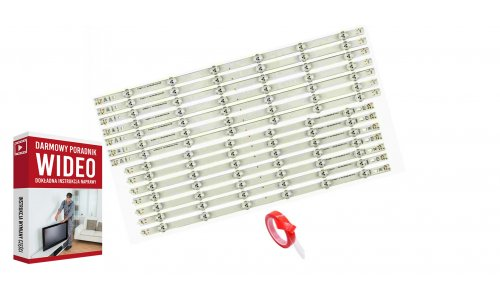 Podświetlenie LED LG NC500DUN-SAAP1 LA62M55T120V12