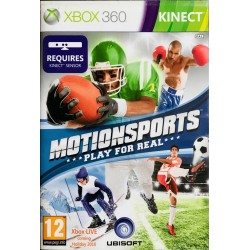 Motionsports kinect xbox 360