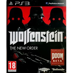 Wolfenstein: The New Order ps3 playstation 3 [PL]