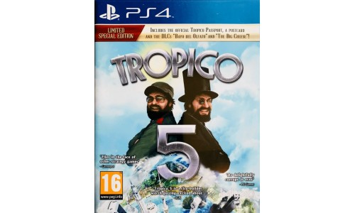 Tropico 5 ps4 playstation 4