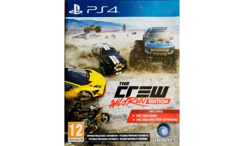 The Crew Wildrun Edition ps4 playstation 4