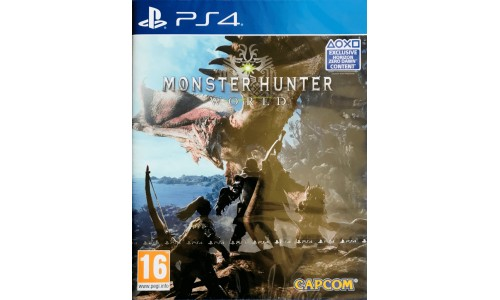 Monster Hunter ps4 playstation 4