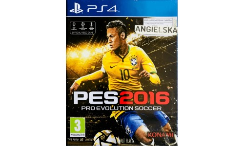 Pes2016 ps4 playstation 4