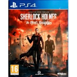 Sherlock Holmes ps4 playstation 4