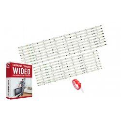 Podswietlenie LED UN65J6300 D4GE-650DCB-R2 2014SVS65F