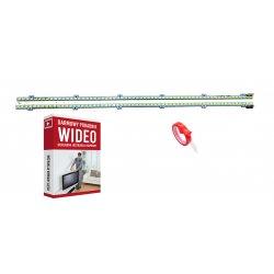 Listwy LED LTJ400HM03-h UE40D6100 2szt