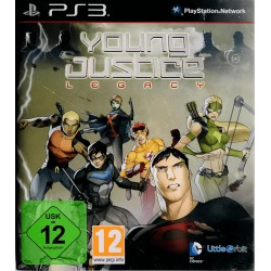 Young Justice ps3 playstation 3