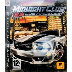 Midnight Club: Los Angeles Playstation 3 ps3