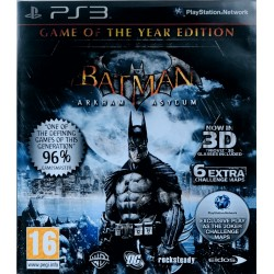 Batman: Arkham Asylum ps3 playstation 3