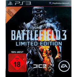 Battlefield 3 limited edition ps3 playstation 3