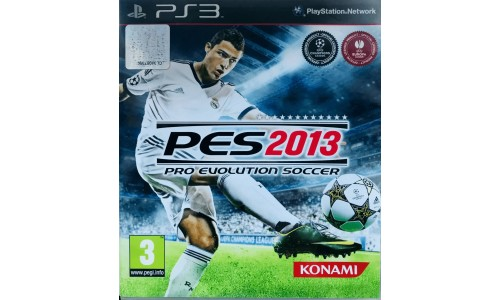 Pro Evolution Soccer 2013 ps3 playstation 3