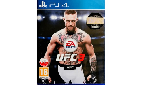 Ufc 3 ps4 playstation 4