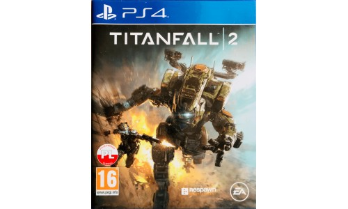 Titanfall 2 ps4 playstation 4 NOWA folia