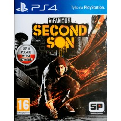 inFamous: Second Son ps4 playstation 4