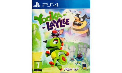 Yooka-Laylee ps4 playstation 4