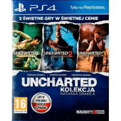 Uncharted Kolekcja Ps4 Playstation 4