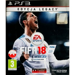 Fifa 18 ps3 Playstation 3