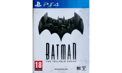 Batman The Telltale Series PS4 Playstation 4 NOWA FOLIA