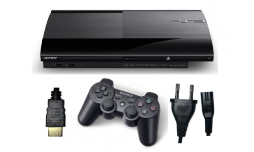 Konsola PS3 SUPER SLIM DYSK 500GB + GRATIS