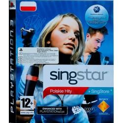 Singstar polskie hity ps3 playstation 3