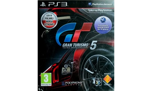 Gran turismo 5 ps3 playstation 3
