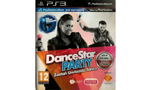 Dancestar party ps3 playstation 3