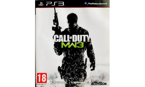 Call of duty mw 3 ps3 playstation 3