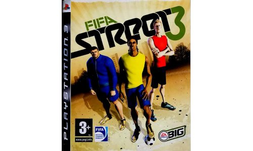 Fifa street 3 ps3 playstation 3