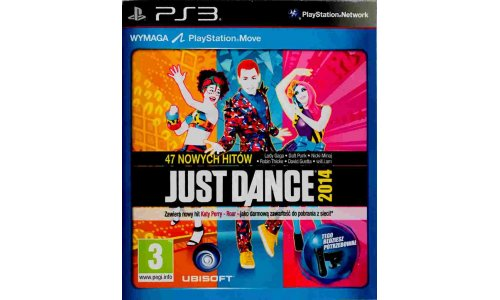 Just dance 2014 ps3 playstation 3 47 nowych hitów !
