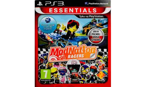 Mod Nation Racers Wyścigi move ps3 playstation 3
